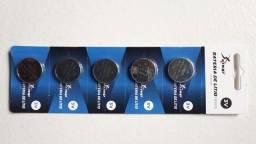Bateria Lithium Cr2032 3v * Cart. C/ 5 UN. **24,99**(34,99 Com Entrega)  **PIX**
