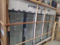 Expositor refrigerado 5 portas pronta entrega *douglas