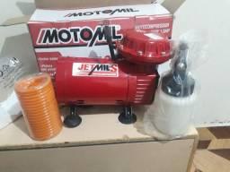 Compressor tufão MOTOMIL zerado na caixa com nota fiscal