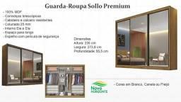 Guarda Roupas Sollo Premium Cód 2355