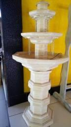 Fonte Rústica com 3 andares de Cachoeira