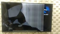 """TV Philco 55"""" display quebrado"""