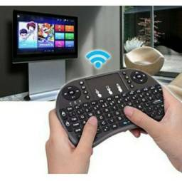 Mini Teclado Wireless Touchpad Sem Fio