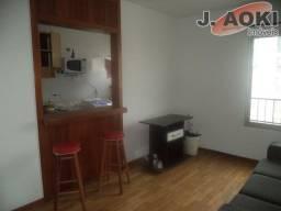 Apartamento para alugar com 1 dormitórios em Vila clementino, São paulo cod:ap72895