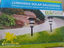 02 Luminárias para Jardim, Solar