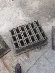 Bloco de concreto 10x40