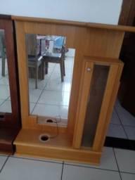 Gabinete de madeira de Banheiro