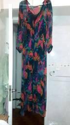Vestido longo de seda da  Shop 126