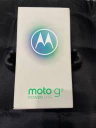 Moto g 8 POWE LITE na caixa