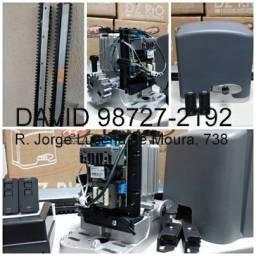 Motor PPA Dz Rio Ultra Rápido P/ Portão com instalação
