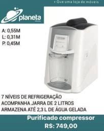 purificador compressor branco
