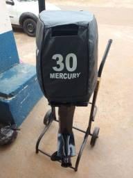 Motor polpa mercury 30hp ano 2018
