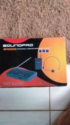 Microfone labial SOUNDPRO SP200HS