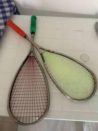 Raquete de squash Novíssima! Cada uma por R$350,00