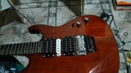 Guitarra com microafinacao top ponte wilkinson nuth gotoh elétrica top regulada