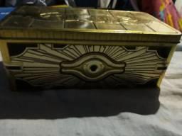 115 Cartas de yu gi oh original da konami com lata sacorfoga