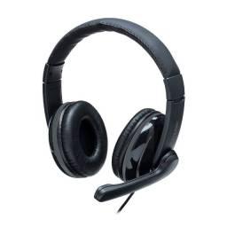 Headset Pro Multilaser USB Preto/Cinza
