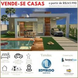 Casas á Venda na Massagueira - Financiamento Terreno + Obra