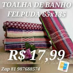 TOALHA FELPUDA 68X165
