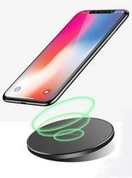 Carregador Rápido Wireless Qi Indução Sem Fio iPhone Samsung