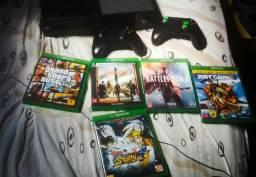Vendo ou troco Xbox One fat 500gb com 65 jogos em Ps4