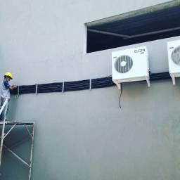 Instalação e manutenção em aparelhos de ar condicionado