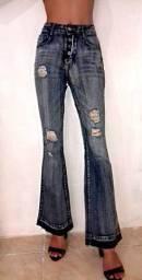 Roupas semi-novas / calça we love jeans marisa