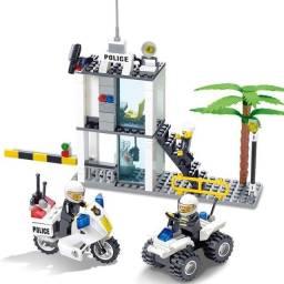 Estação de policia compativel com lego 193 pçs