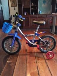 Bicicleta infantil B-Twin aro 14
