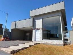 Título do anúncio: Casa à venda, 160 m² por R$ 820.000,00 - Jardins Bolonha - Senador Canedo/GO
