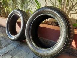 Par de pneus 195/55 R15 em ótimo estado