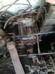 Eu tô vedeno um diferencial do mecede e um motor x10 uma caixa de macha