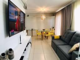 AP0849 - Apartamento com 3 quartos, projetado e lazer completo no Terraço das Flores