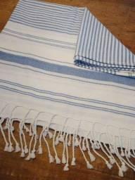 Manta em jacquard 100% algodão, da SOUQ