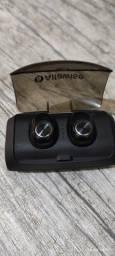 Título do anúncio: Alfawise V6 TWS Fone De Ouvido Bluetooth 5.0 PowerBank 3000mAh
