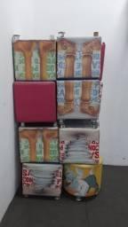 Puffs 0,40 cm x 0,40 cm - 20 unidades