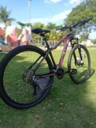 bicicleta aro 29 freio hidráulico 24 velocidades $2100,00 a vista 22500,00 a prazo