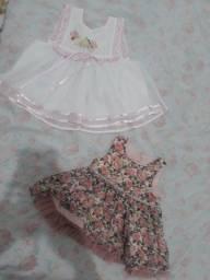 Vendo roupa de bebê menina
