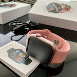 smartwatch iwo hw16 faz ligação