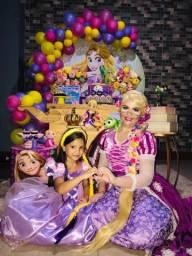 Rapunzel, Moana, Cinderela, Ariel, Etc