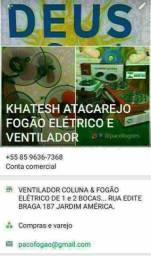 Fogão elétrico ventilador