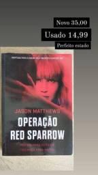 Livro Operação Red Sparow - Jason Matthews