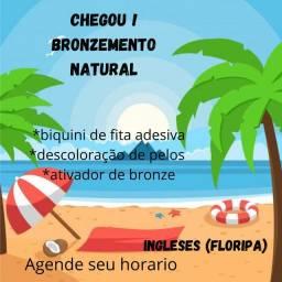 Bronzeamento natural na praia