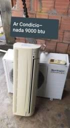 Ar Condicionada de 12000 btus e 9000 btus