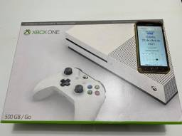 xbox one s 500gb Nunca usado novo na caixa