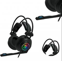 Headset Gamer Fortrek Vickers Rgb Pc Ps4 Xbox-one 2xp2 + P3