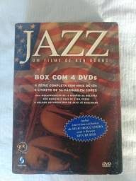 Box Jazz com 4 dvd's
