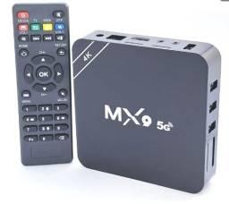 TV Box MX9 4K c/ Conexão 5G