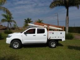 Título do anúncio: hilux cabine dupla 3.0 4x4 diesel com operacional
