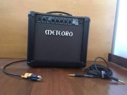Vendo Amplificador para Guitarra Nitrous NDR15- Meteoro + Cabo de conexão
